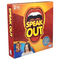 amusement kids - UPS Ship New Speak Out Game Party Board Game Novelty Games Ridiculous Mouthpiece Challenge Game Friends and Family KTV Games Amusement Toys
