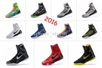hot summer tops - High quality hot new generation of Kobe Bryant basketball shoes high top sneakers boots summer Size