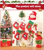 applique christmas stockings - Christmas decorations and Christmas stockings applique Christmas stockings Christmas Candy Bag gift bag