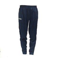Wholesale JOMA training pants football black pants plus size long blue winter soccer trousers