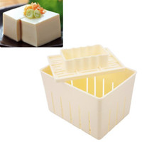Wholesale New DIY Homemade Tofu Press Maker Mold Plastic box Soybean Curd Making Machine Mould kitchen accessories cooking tool