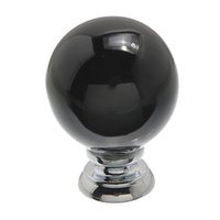 Wholesale 5PCs Black Cherry Shaped Ceramic Kitchen Knobs Handles Cabinet Drawer Door Knobs Pulls Hardware x26mm