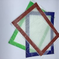 Wholesale Silicone wax pads dry herb mats large mm round or cm square mat dabber sheets dab tool for smoking