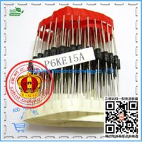 Wholesale V unidirectional TVS TVS Diode P6KE15A line row with packaging
