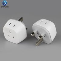 ac power conversion - ETOPLINK EK C02 Worldwide Universal AC Conversion Socket Dual USB Output Wall Power Socket Travel Converter Conversion Plug for iPhone