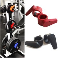 Wholesale New Arrival mm Olympic Barbell Lock Jaw Collars Weight Lifting Easy Lock Collar Clamp Barbell Collars barbell collars