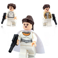 baby toy lots - 2016 new Princess Leia Star Wars Minifigures Building Blocks Set Model Mini Figures Bricks Kids Baby Toys PG8005
