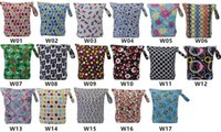 Wholesale Asenappy leakproof washable wet bags dry bags cloth diaper covers bags