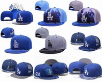 Wholesale Los Angeles Dodgers Snapback Hats New Arrival Men s Baseball Team Embroidered LA Letter Logo Adjustable Flat Caps Mix Orders Acceptted