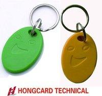125Khz RFID ID de proximidad de la tarjeta de Token Etiquetas clave Keyfobs para el control de acceso Patrulla reloj de tiempo Asistencia Tarjeta de visita Bus Highway