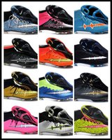 accept band - Drop Shipping Mix Accepted Best Discount Superfly CR7 FG AG Shoes New Boots New Ronaldo Black Boots Football boots Soccer Cleats