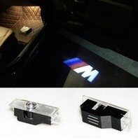 Wholesale Led Emblem Car Door Ghost Shadow LED Lights Logo Projector Laser Welcome Lamp FOR BMW E60 E63 E90 E92 E93 X1 X3 X5 X6 M3 M5