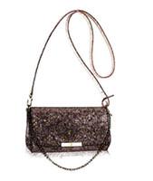 Wholesale luxury brand bag EVA CLUTCH Damier Ebene tote bag genuine leather bag M40718 small chain handbag crossbody bag FAVORITE Bag M40717 M41277