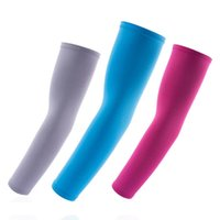 Wholesale sleeve case pair Bicycle Arm warmers Bike Hiking Cycling Arm Guard Support Basketball Arm Sleeves Sun UV Protection Elbow Pads