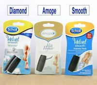 Wholesale Health Care Express Pedi Replacement Roller Heads Smooth Diamond Amope Soft Amope Foot care Supply Hard Skin Remover Replaced Rollers