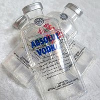 absolut bottles - 3D Transparent ABSOLUT VODKA Case Wine Beer Bottle Design Soft TPU Phone Case For iPhone SE S S Plus inch Free Ship MOQ