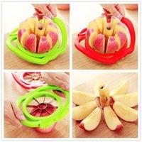 apple salads - kitchen cook christmas party Vegetable Tools fruit salad slicer Apple cutter knife corers for children kids Handed Fruit Cut