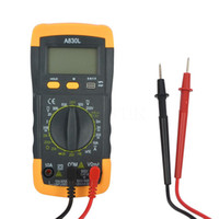 Wholesale DMM A830L LCD Digital Multimeter Electrical DC AC Voltage Diode Freguency Multitester Ammeter Voltmeter Ohmmeter Current Tester