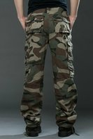 air force pants - Air Force Army Camouflage Pants Mens Casual Outdoor Military Trousers Male Camo Multi Pocket Pants Combat Army Camouflage Pants