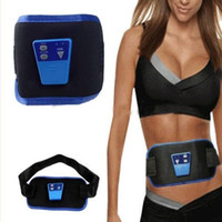 ab electronic devices - Electronic Gymnastic Device AB Muscle Exercise Toner Slim Fit Gymnic Arm Leg Abdom Waist Massager Body Shaper With Battery Gel DHL Free
