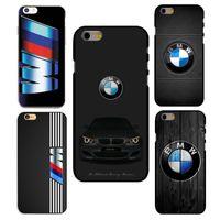 apple iphone bmw - New BMW Car logo Hard Transparent Mobile Phone Bag Cases Covers Paras Capas Coque For Apple iPhone s s SE c S plus Plus Fundas