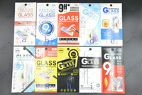 Wholesale Colorful Paper package for D mm Premium Tempered Glass Screen Protector for iphone plus s plus