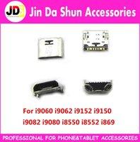 Wholesale For Samsung Galaxy I9060 I9062 I9150 I9152 I9158 Micro usb charge charging connector plug dock socket port
