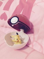 abs cement - Poke mon Toys Poke Ball Figures ABS Anime Action Figures PokeBall Toys Super pikachu Ball Toys Juguetes