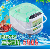 Wholesale Fruit and vegetable disinfection cleaning broad minded machine home ozone fully automatic vegetable wash machine fruit hormone