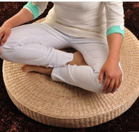 Wholesale straw plaited article meditation pad living room pad Japanese chair