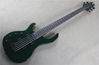 Wholesale ALL NEW MODULUS quantum bass five string left hand electric bass ink green models