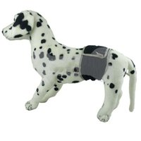 belly golf - Male Dog Belly Band Wrap Toilet Training Diapers Nappy Sanitary S M Sizes Black