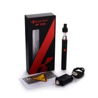 Cheap Authentic Kanger TopEvod Starter Kit 650mAh Evod Battery Kangertech 1.7ml Toptank Top Fill Atomizer with VOCC T Coil e cigarettes vs ijust