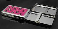 Wholesale CM New Pocket tinplate Cigarette Case Tobacco Case Box Holder Cigar Smoke smoking grinder