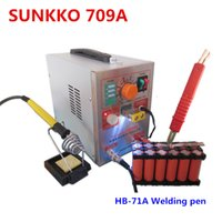 Wholesale SUNKKO A KW LED Pulse Battery Spot Welder with HB A Welding pen for lithium battery