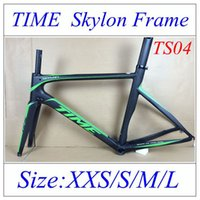 Wholesale Newest Fashion Time Skylon Frame Road Carbon Bike Frame K Weave Carbon Road Bicycle Frames With BB30 BSA Converter