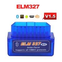 android programmer - V1 Super MINI ELM327 Bluetooth ELM Version OBD2 OBDII for Android Torque Car Code Scanner