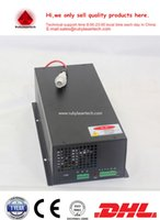 Wholesale Commen use MYJG LCD current display waranty year W CO2 laser power supply AC110 V input for W CO2 laser tube