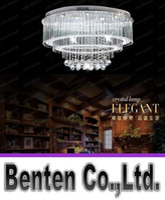bedroom ceiling lights ideas - Oval chandelier luxury European led ceiling bedroom lighting idea atmospheric living room lamps LLFA