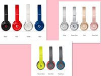 Wholesale Beats Solo2 Bluetooth Headphone Active Collection HD Stereo Wireless Mobile Cellphone Solo Earphone Used Refurbished