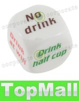 Wholesale LAI Party Drink Decider Dice Games Pub Bar Fun Die Toy Gift KTV Bar Game Drinking Dice cm