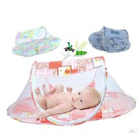 Wholesale Portable Baby bed Crib Folding Mosquito Net bed summer hot selling SS