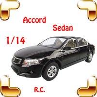 accord sedan - New Year Gift Rastar Accord RC Sedan Car Scale Model Rc Car Electric Car Radio Toy Car Fans Carro De Controle Remoto