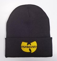 adult school wear - new wu tang clan old school bboy skateboard wool knitted Beanies Hats Fashion street wear hiphop warm winter knitted skullies