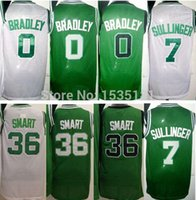 avery s - Avery Bradley Jersey Cheap Jared Sullinger Mens Green White Mesh Marcus Smart Basketball Jerseys