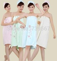 bamboo nightgowns - Ms bath skirt ms summer thin paragraph nightgown warp knitting bamboo fiber embroidered bath skirt that wipe a bosom