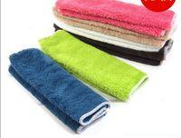 Wholesale South Korea kitchen dish cloth wood fiber non stick oil dishwashing towel multi function cloth clean cloth