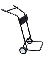 Wholesale 15HP or LB Small Outboard Boat Steel Trolling Motor Stand Carrier Cart Dolly