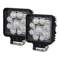 Wholesale 2 piece automotive v v DC inch W high intensity W truck tractor trailer jeep led work light