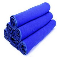 Wholesale 50pcs per Car Care Cloth Cleaning Towel Microfiber Quick Dry Terry Material Factory Low Price